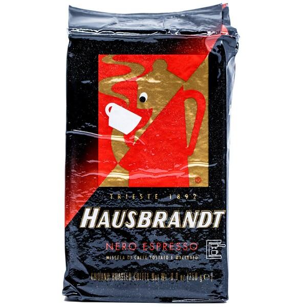 Caffé Hausbrand Nero Kaffee gemahlen 250g