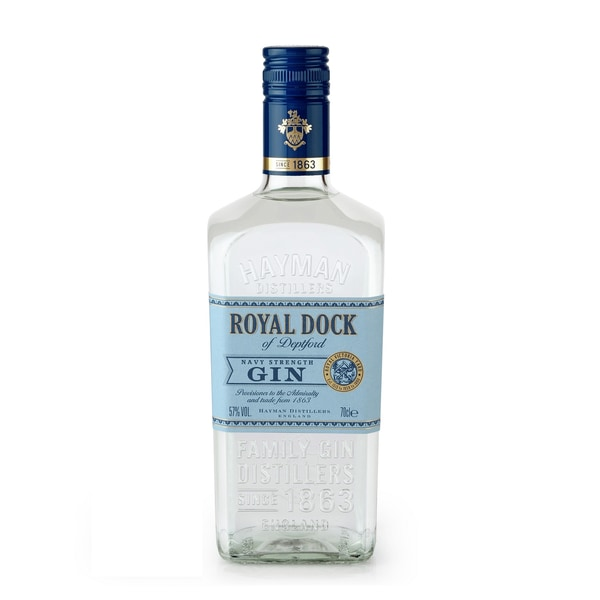 Hayman's Royal Dock of Deptford Navy Strength Gin 0,7l