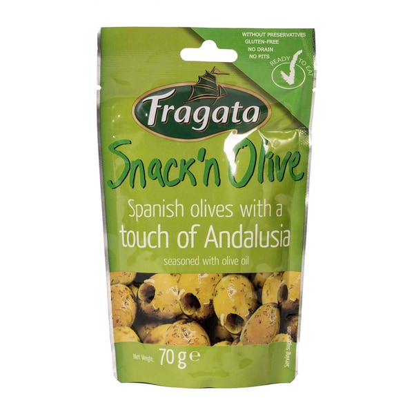 Fragata Snack Olive Andalusien 70g
