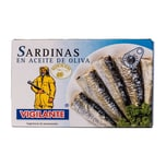 Vigilante Sardinas en Aceite de Oliva Sardinen in Olivenöl 88g