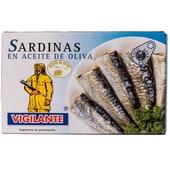 Vigilante Sardinen in Olivenöl 88g