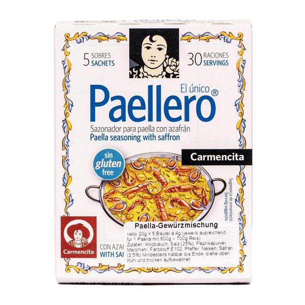 Carmencita Paellero Gewürzmischung für Paella 5x4g