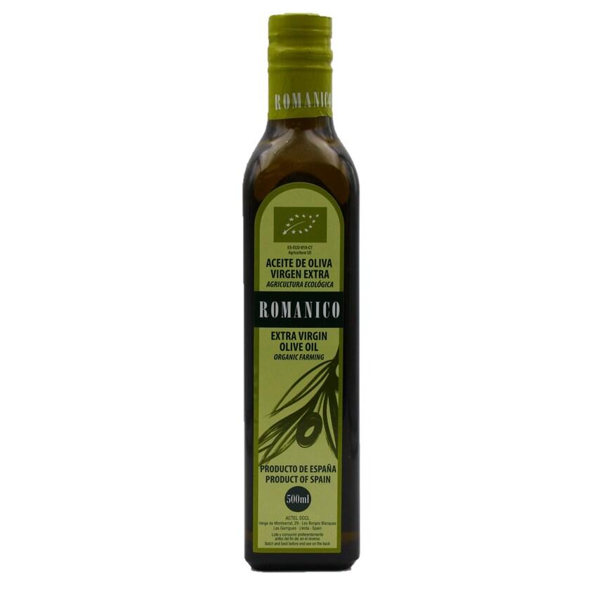 Romanico Natives Olivenöl Extra Bioqualität 0,5l