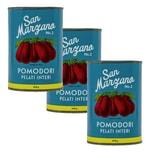 Pomodori pelati di San Marzano Vintage Tomaten geschält ganz 3 x 400g, 1.200g