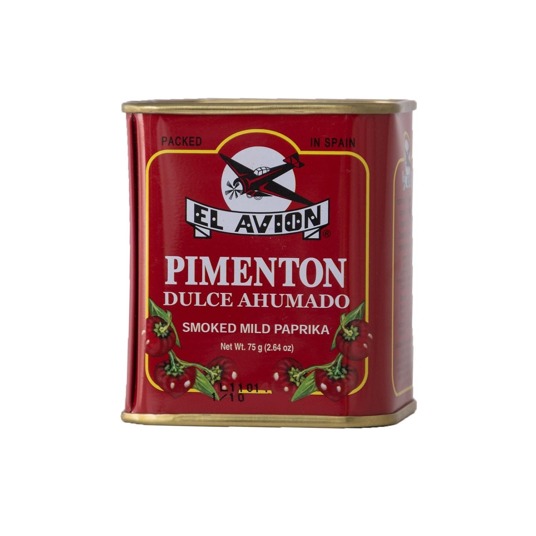 El Avion Pimenton Dulce ahumado mildes Paprikapulver 75g