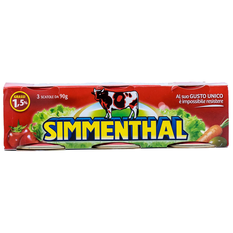 Simmenthal Carne Lessata Rindfleisch in Aspik 270g, 3x90g