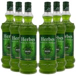 Moya Herbes de Mallorca Licores seques Kräuterlikör trocken 6x1l