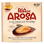 Ortiz Marinierte Miesmuscheln frittiert in Olivenöl Ria de Arosa 69g