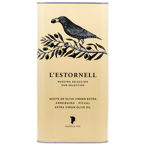 L´Estornell Natives Olivenöl Extra aus Arbequina und Picual Oliven 5l