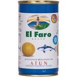 El Faro Rellenas de Atun gefüllte Oliven mit Thunfisch 150g