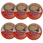 Manná Paté de Atum Picante Thunfischpaste pikant 6 x 65g, 390g