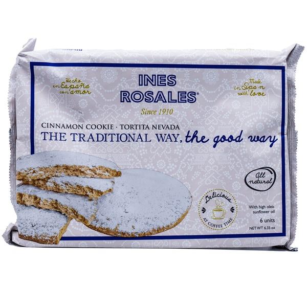 Ines Rosales Tortita Nevada Zimtküchlein mit Puderzucker 180g