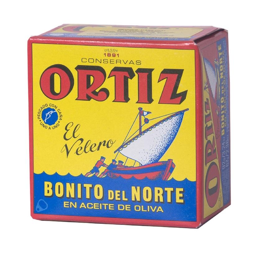 Ortiz Bonito del Norte en Aceite Oliva Weißer Thunfisch in Olivenöl 67g