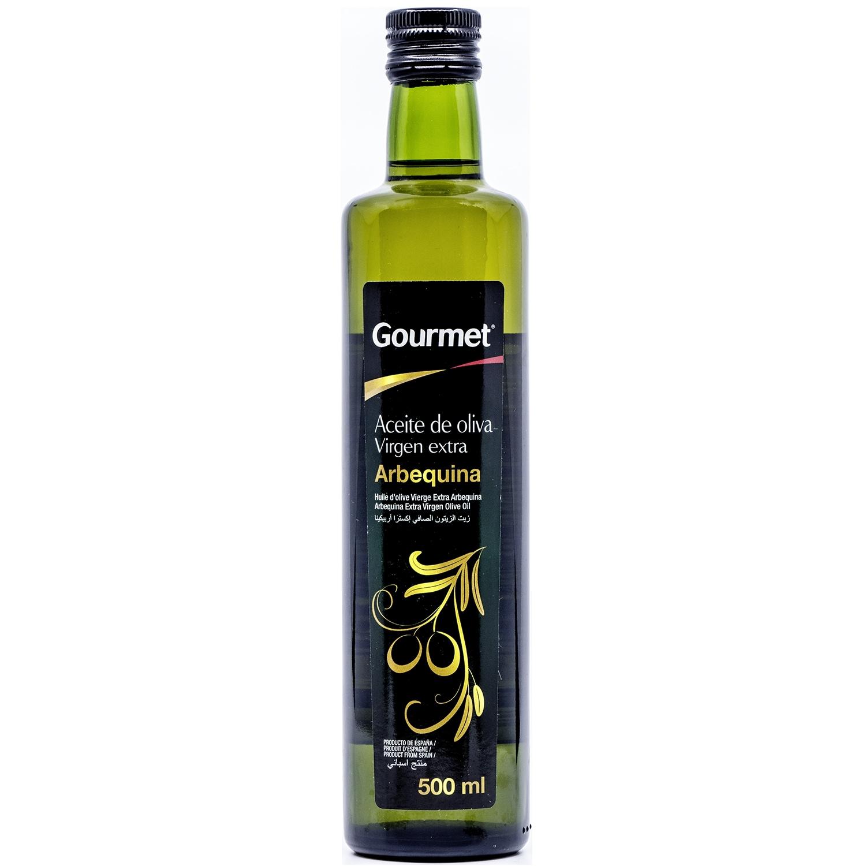 Gourmet Aceite de oliva Virgen extra Arbequina extra natives Olivenöl 500ml