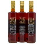Cuba Caramel Vodka 3 x 0,7l, 2,1l