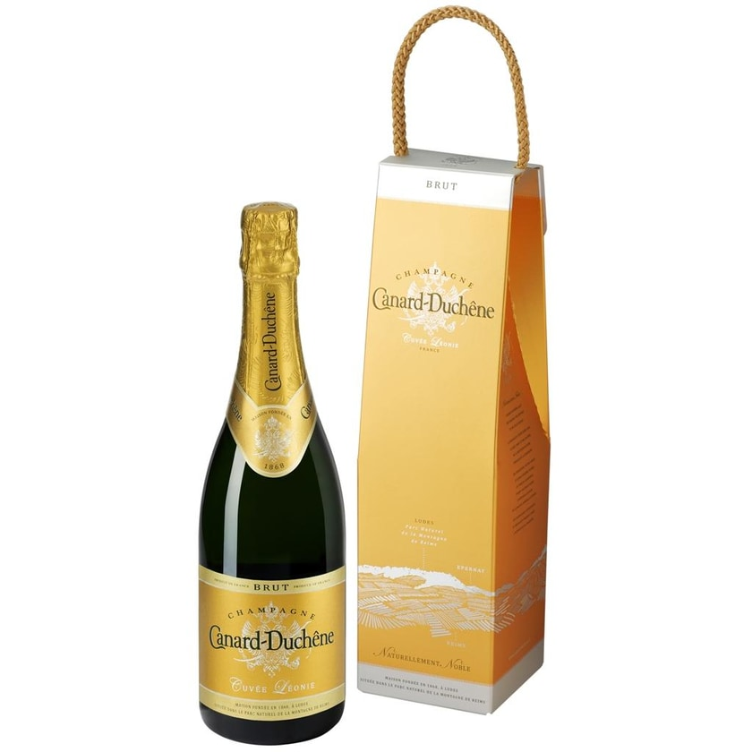 Canard-Duchêne Champagner Cuvée Léonie in Geschenkpackung 0,7l