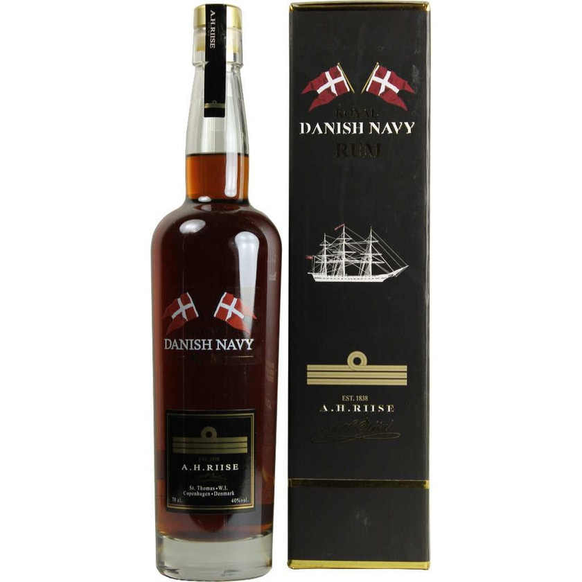 A.H. Riise Danish Navy Rum 0,7 l