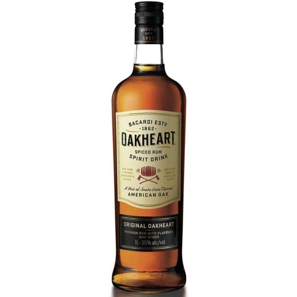 Bacardi Oakheart 1 L