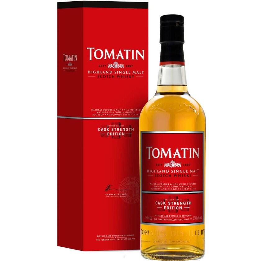 Tomatin Whisky Cask Strength 0,7l