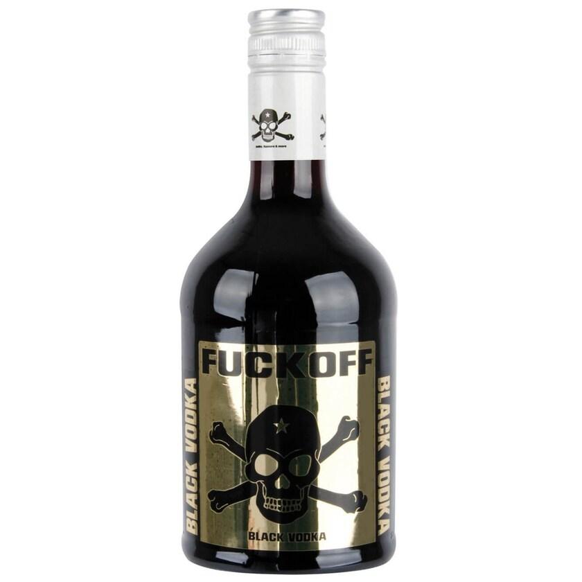 Krugmann Fuckoff black Wodka 0,7 L
