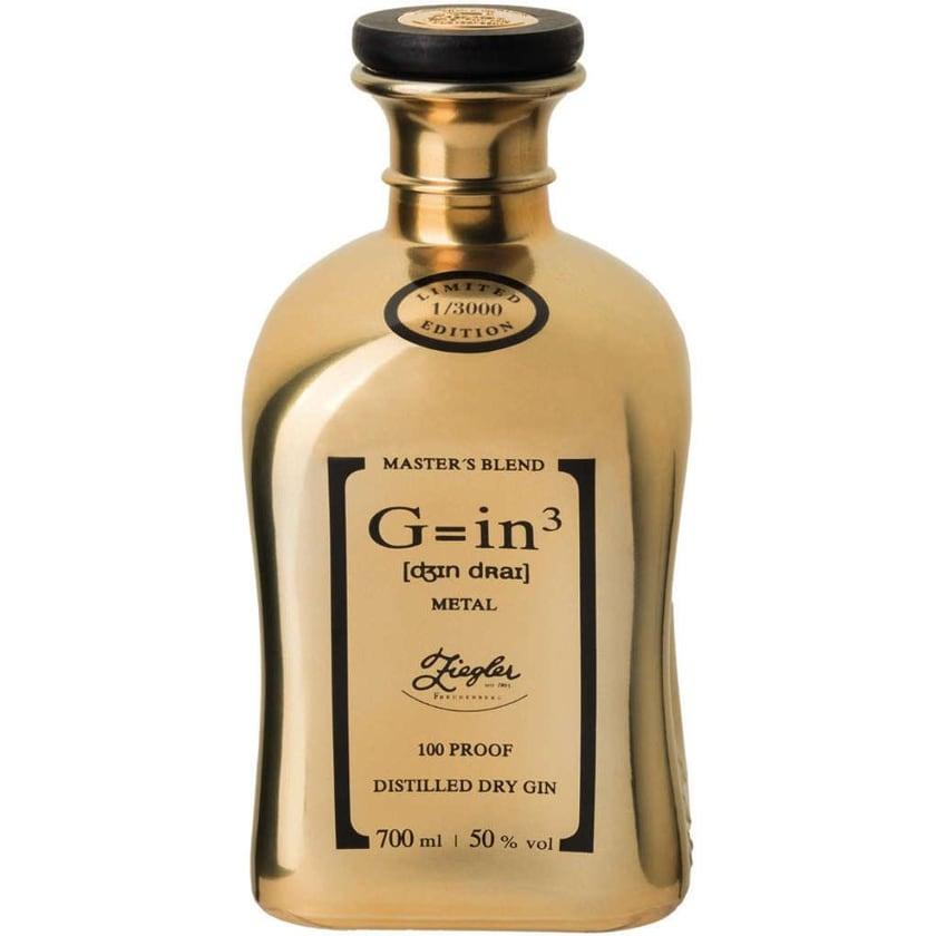 Ziegler Gin3 Metal Gold Masters Blend 0,7l