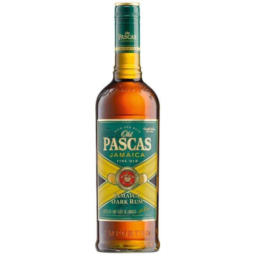 Old Pascas Jamaica Dark Rum 1 L