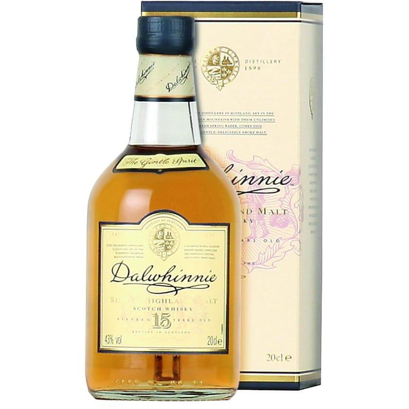 Dalwhinnie Whisky 15 Jahre 0,2l
