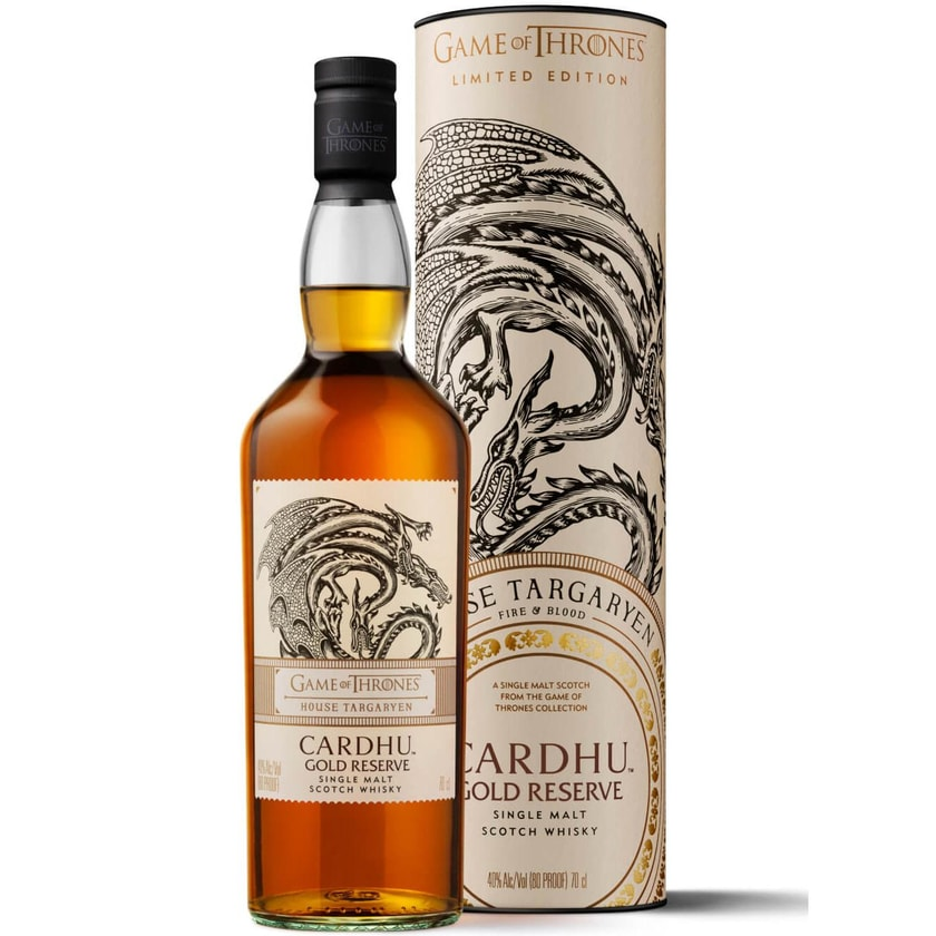 Cardhu Gold Reserve Game of Thrones Edition 0,7l
