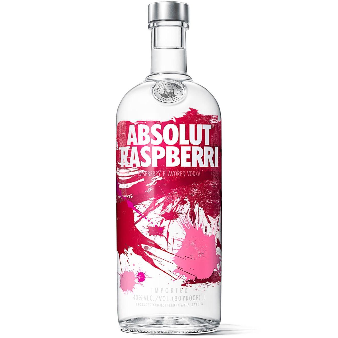 Absolut Vodka Raspberri 1l Bei Rewe Online Bestellen