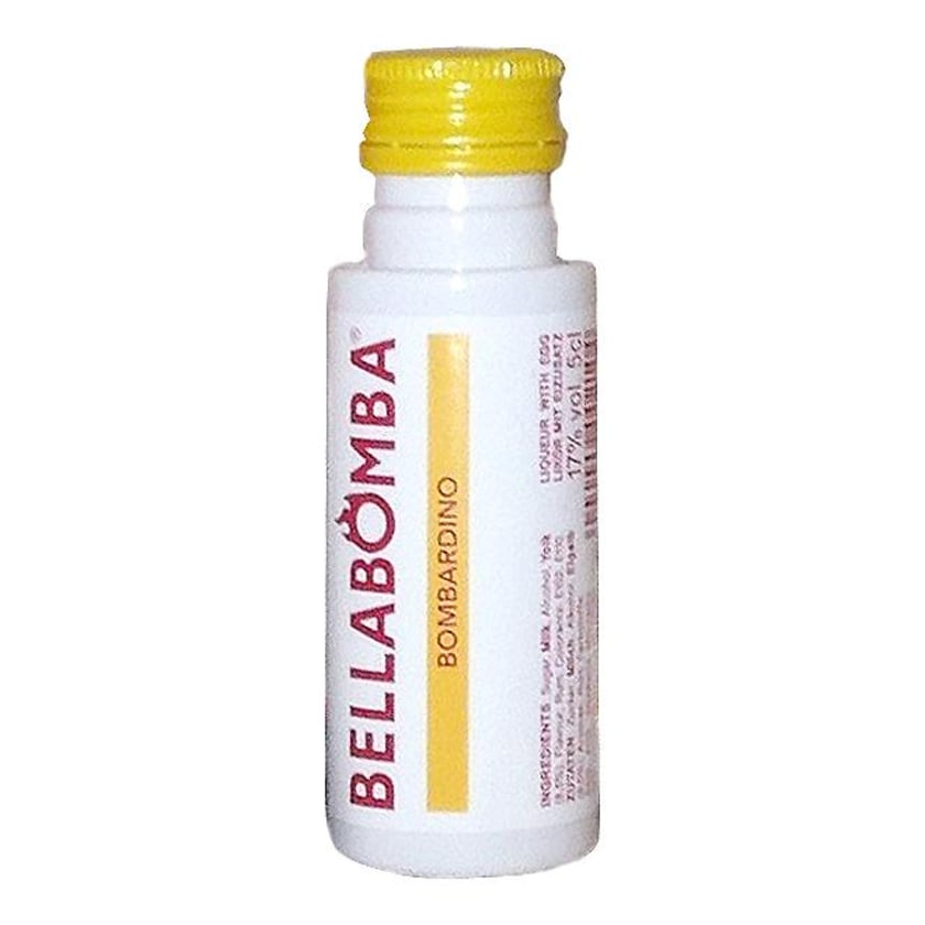 Bellabomba Miniatur Likör mit Ei und Rum 0,05 L
