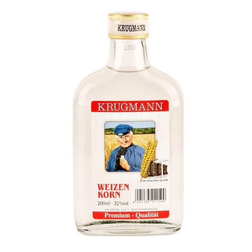 Krugmann Weizenkorn Taschenflasche 0,2 L