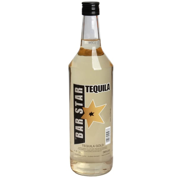Bar Star Tequila Gold 1 L