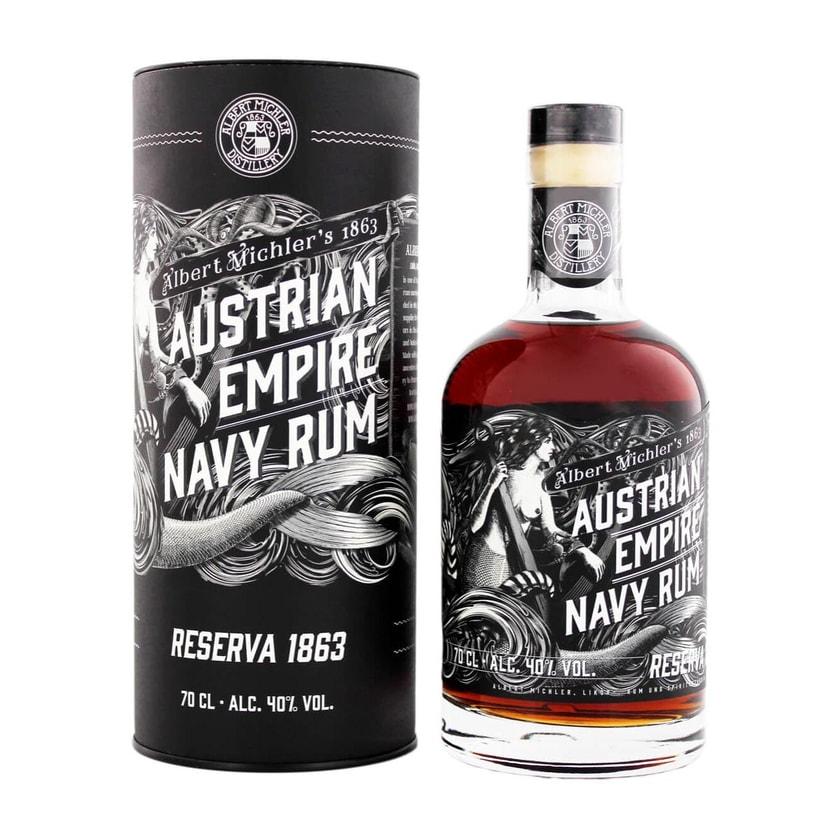 Albert Michlers Austrian Empire Navy Rum Reserve 1863 0,7 L