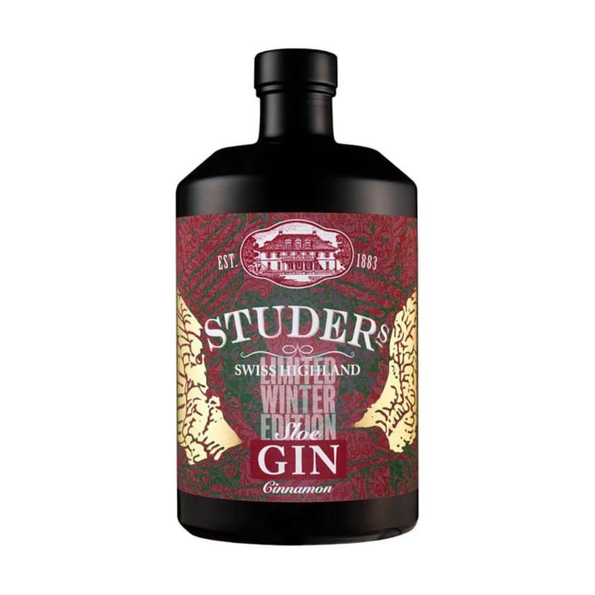Studer Swiss Highland Zimt Sloe Gin Winteredition 0,7 L