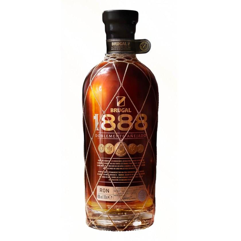 Brugal 1888 Dominikanischer Premium Rum, 40% Vol, 1 x 0,7 l