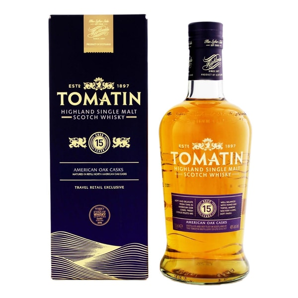 Tomatin 15 Years 0,7 L
