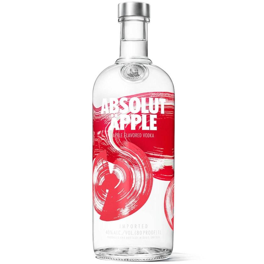 Absolut Vodka Äpple 1 L