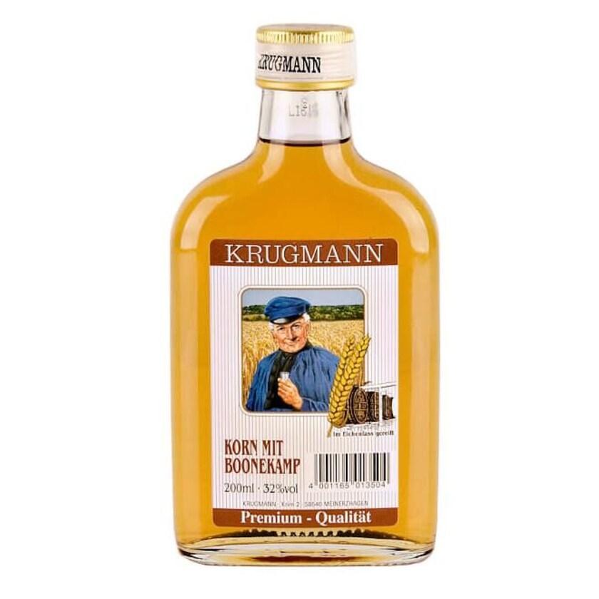 Krugmann Korn mit Boonekamp Taschenflasche 0,2 L