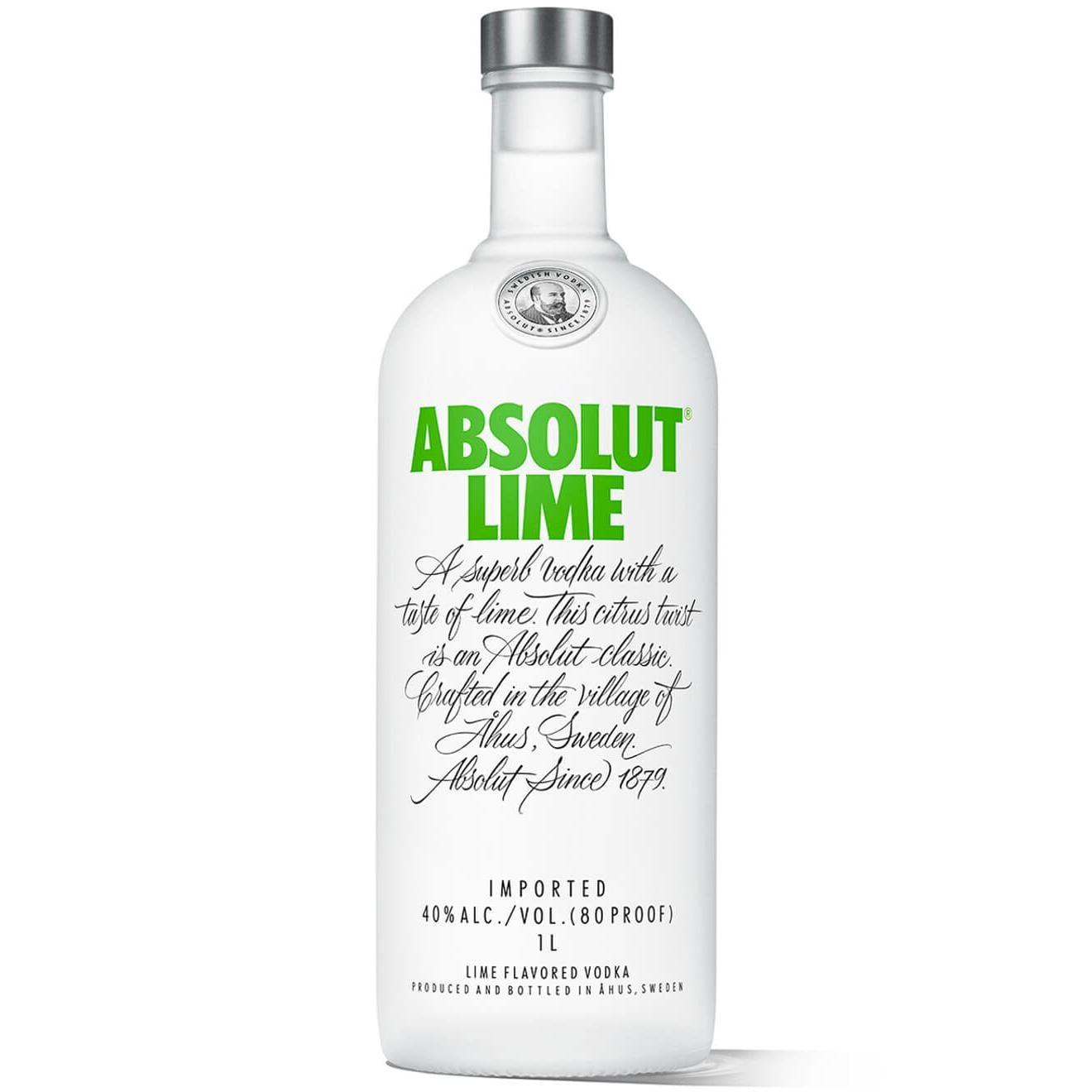 Absolut Vodka Lime 1l Bei Rewe Online Bestellen