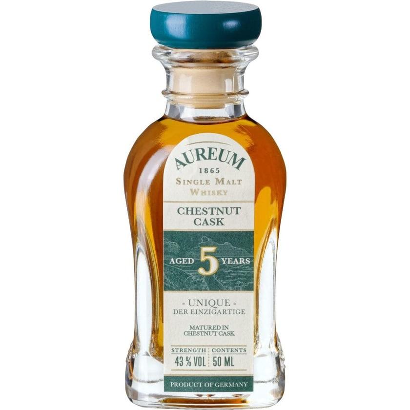 Aureum 1865 Whisky Chestnut Cask Mini 0,05l