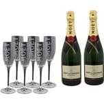 Moët & Chandon Champagner Brut Imperial Gläserset