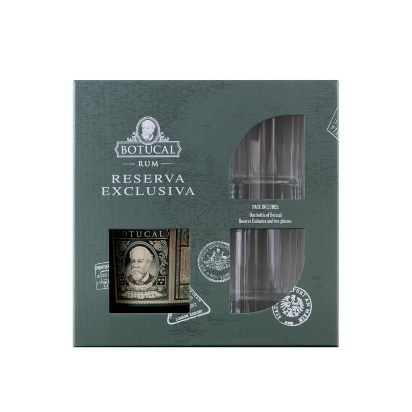 Botucal Reserva Exclusiva mit 2 Tumblern 0,7 L