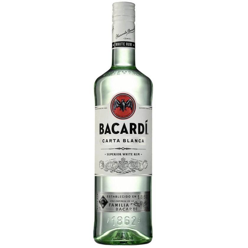 Bacardi Carta Blanca Superior White Rum 1 L