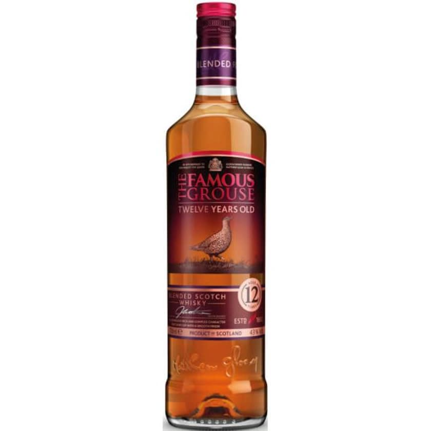 Famous Grouse Malt Whisky Aged 12 Years 0,7l