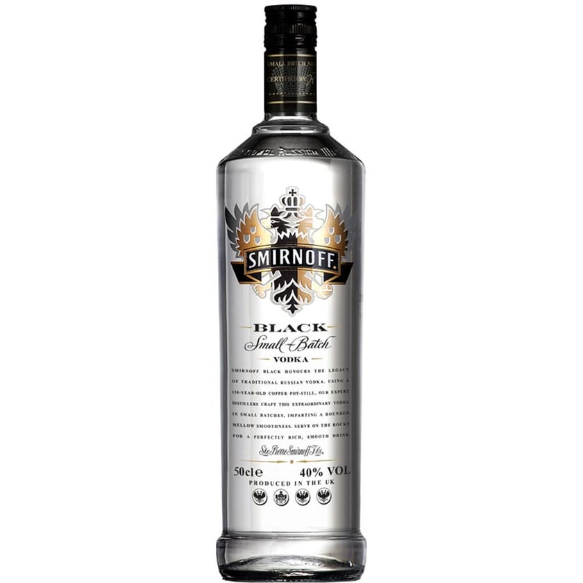 Smirnoff Vodka Black Label 0,5l