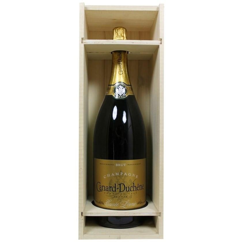 Canard-Duchêne Champagner Cuvée Léonie 3 Liter in Holzkiste