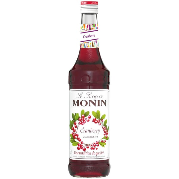 Monin Sirup Cranberry 0,7 L