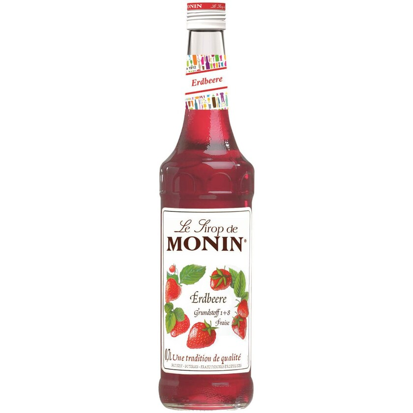 Monin Sirup Erdbeer 0,7 L