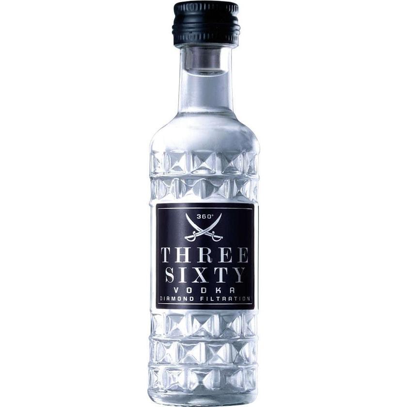 Three Sixty Vodka Diamond Size Mini 4cl