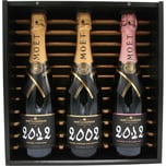 Moet & Chandon Champagner Grand Vintage Setbox 2002/2012/2012 Rose